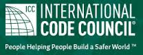 international code council logo, hyperlink to ICC website, https://codes.iccsafe.org/