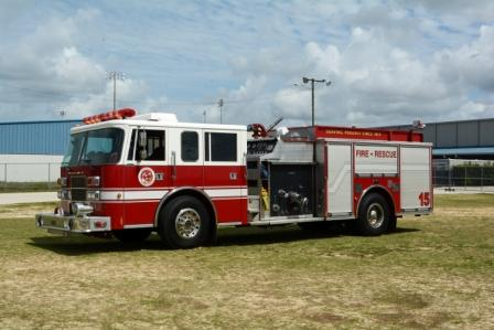 E-15, engine 15, fire truck
