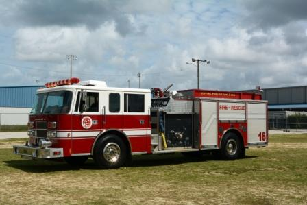 E-16, engine 16 fire truck