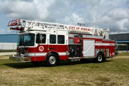 Ladder 15, aerial fire truck